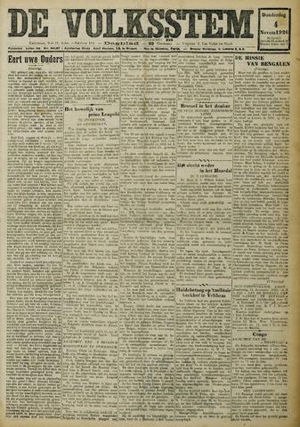 De Volksstem 1926-11-04