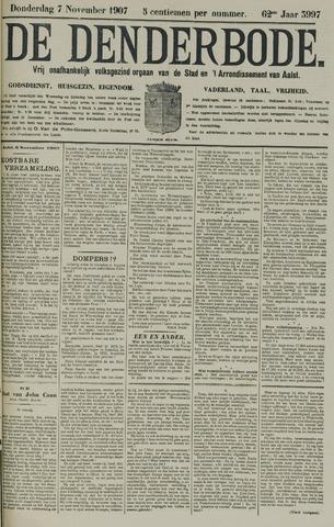 De Denderbode 1907-11-07