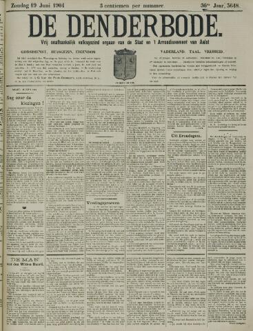 De Denderbode 1904-06-19