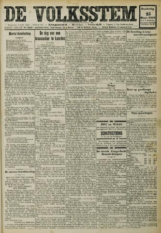 De Volksstem 1926-03-25