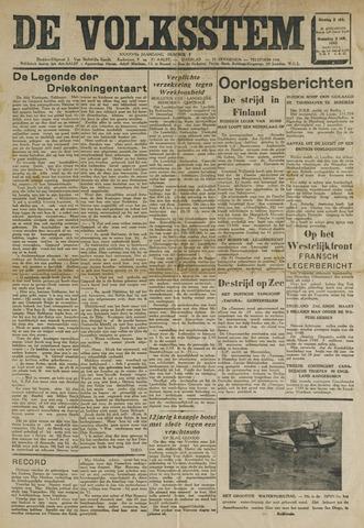De Volksstem 1940