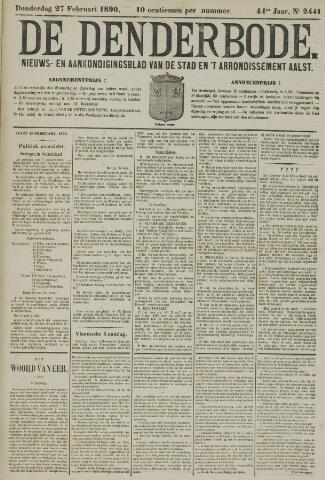 De Denderbode 1890-02-27
