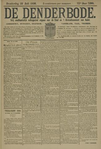 De Denderbode 1898-07-21