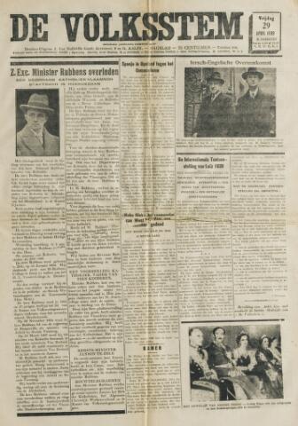 De Volksstem 1938-04-29