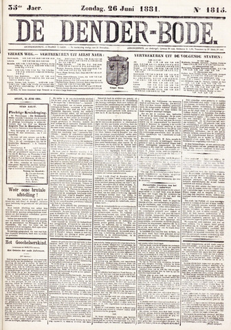 De Denderbode 1881-06-26