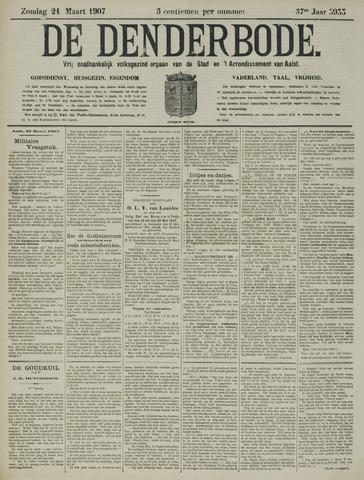 De Denderbode 1907-03-24