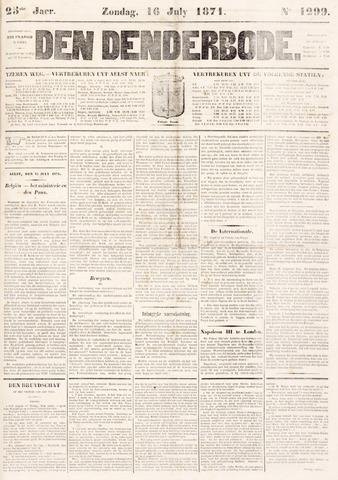 De Denderbode 1871-07-16