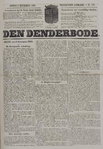 De Denderbode 1860-09-09