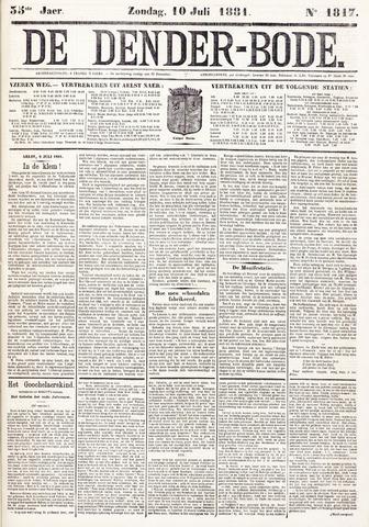 De Denderbode 1881-07-10
