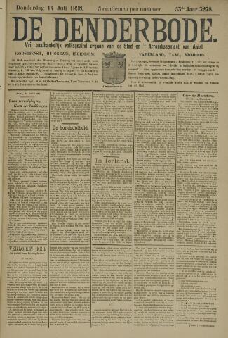 De Denderbode 1898-07-14
