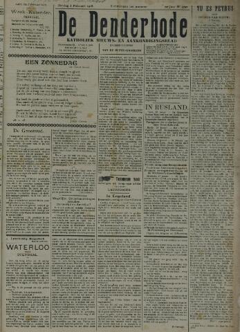 De Denderbode 1918-02-03