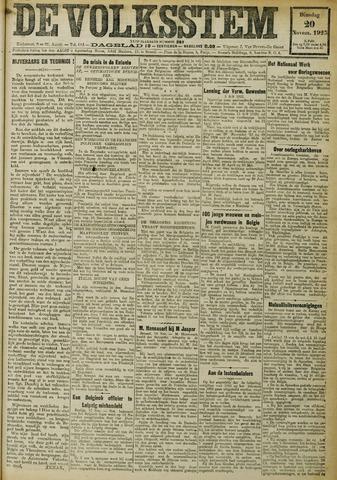 De Volksstem 1923-11-20