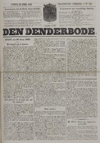 De Denderbode 1860-04-29