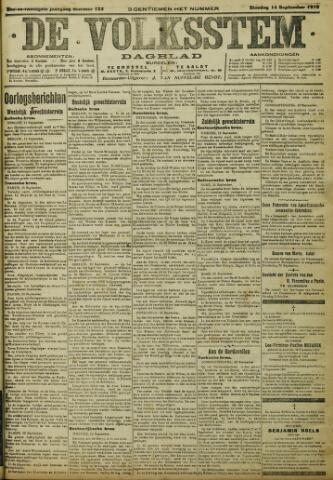 De Volksstem 1915-09-14