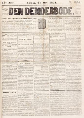 De Denderbode 1871-05-21