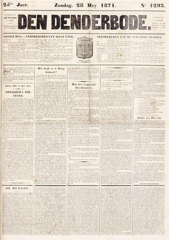 De Denderbode 1871-05-28