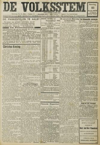 De Volksstem 1930-10-25