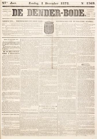 De Denderbode 1872-12-01