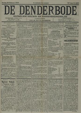 De Denderbode 1916-02-20
