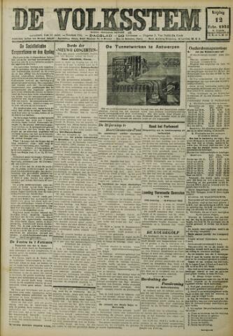 De Volksstem 1932-02-12