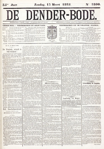 De Denderbode 1881-03-13