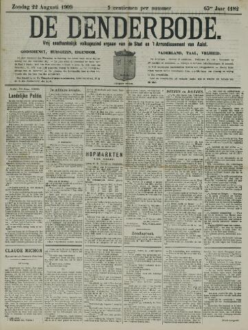 De Denderbode 1909-08-22