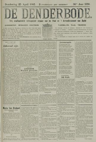 De Denderbode 1903-04-23