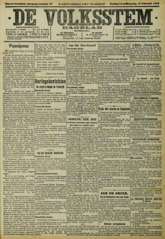 De Volksstem 1915-02-14