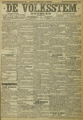 De Volksstem 1915-09-23