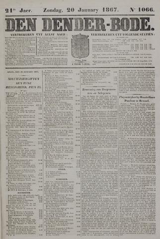 De Denderbode 1867-01-20
