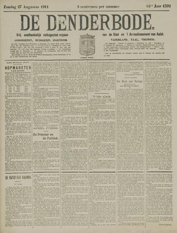 De Denderbode 1911-08-27