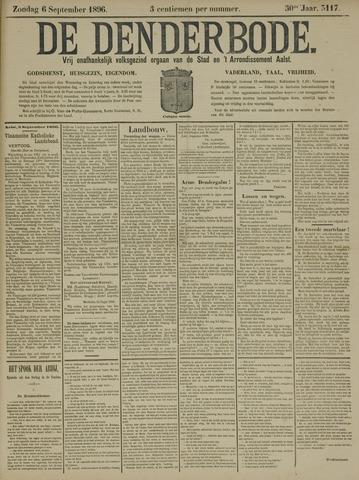 De Denderbode 1896-09-06