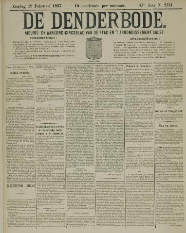 De Denderbode 1893-02-19