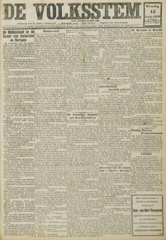 De Volksstem 1930-10-15