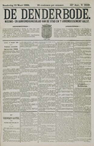 De Denderbode 1888-03-15