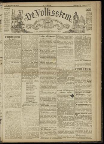 De Volksstem 1907-01-12