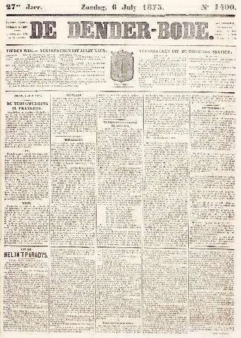 De Denderbode 1873-07-06