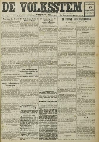 De Volksstem 1931-08-13