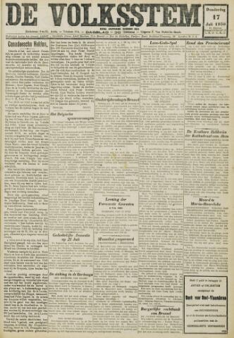 De Volksstem 1930-07-17