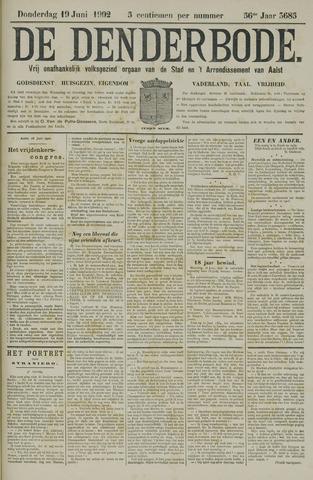 De Denderbode 1902-06-19