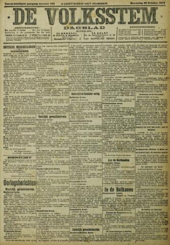 De Volksstem 1915-10-20