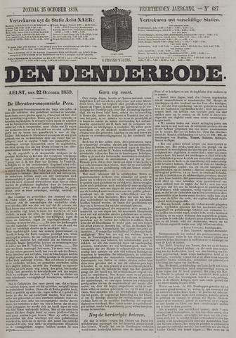 De Denderbode 1859-10-23