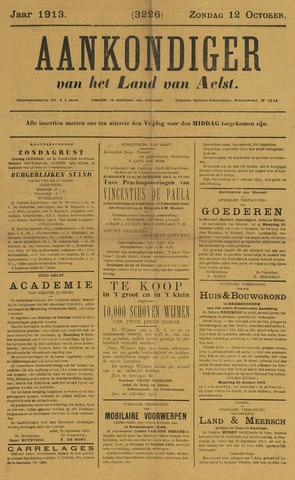 Aankondiger 1913