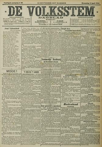 De Volksstem 1914-04-08