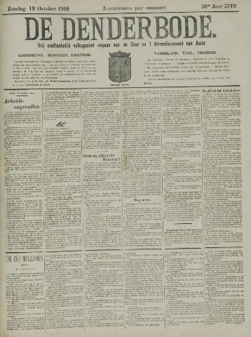 De Denderbode 1902-10-19