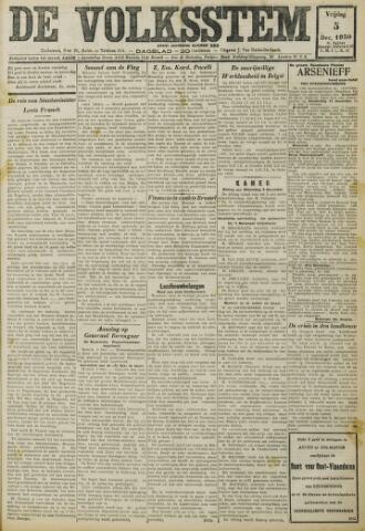 De Volksstem 1930-12-05