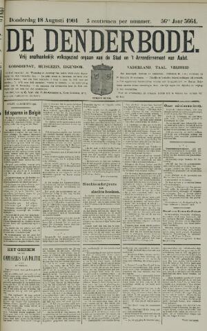 De Denderbode 1904-08-18