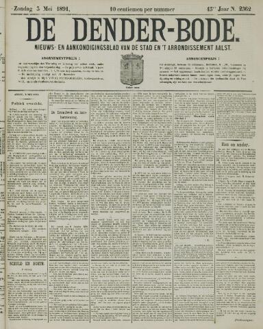 De Denderbode 1891-05-03