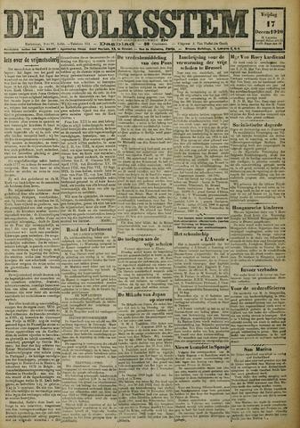 De Volksstem 1926-12-17