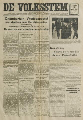 De Volksstem 1938-09-16